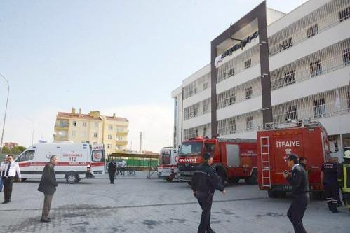 Konya'da Engelli Bakım Merkezinde Yangın: 1 Ölü, 21 Yaralı