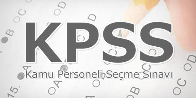 KPSS'de İki Soru İptal Edildi