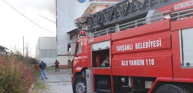 Kütahya'da Katı Yakıt Tesisindeki Yangın Korkuttu