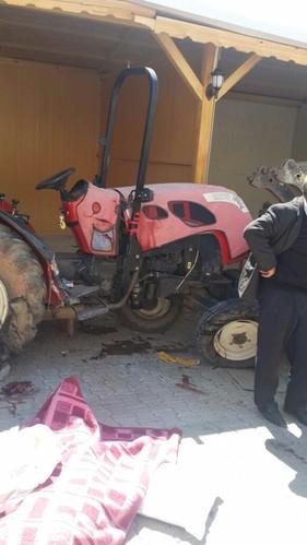 Malatya'da Freni Boşalan Kamyon Traktöre Çarptı: 1 Ölü, 2 Yaralı