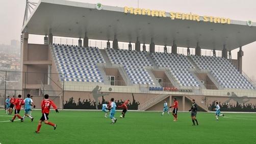 Mamak'ta Yeni Stad İlk Düdük