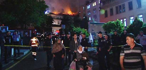 Numune Hastanesi Yangınının İncelemesi Sürüyor