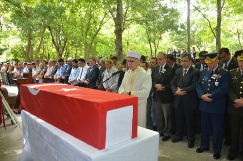 Şehit Piyade Üsteğmen Mehmet Düzenli Son Yolculuğuna Uğurlandı