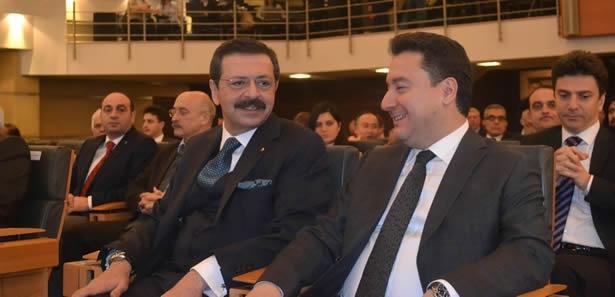 TOBB Başkanı'ndan Babacan'a Övgü Dolu Sözler