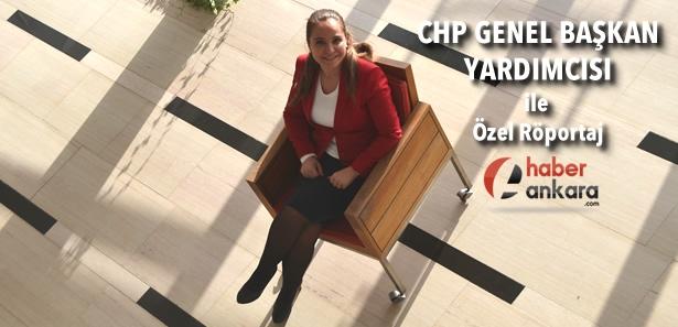 Yasemin Öney Cankurtaran Haber Ankara'ya Konuştu