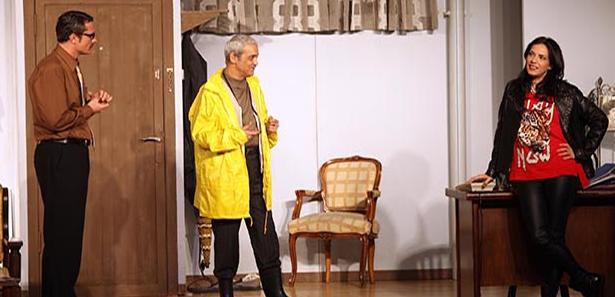 Yeşim Salkım ve Eşi Tiyatro ile İlk Kez Ankara'daydı