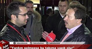 Ankaragücü - Manisaspor Maçı Sonrası Başkan Mehmet Yiğiner'in Açıklamaları