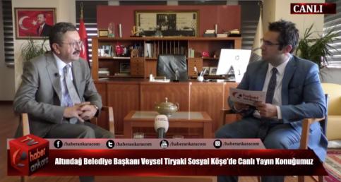 TIKLA İZLE! Altındağ Belediye Başkanı Veysel Tiryaki Sosyal Köşe'de Vatandaşın Sorularını Yanıtladı...
