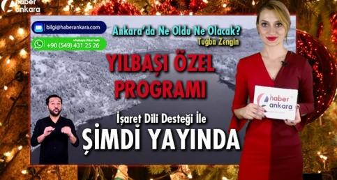 """TIKLA İZLE! 2019'UN İLK PROGRAMI! """"Tuğba Zengin'le Ankara'da Ne Oldu Ne Olacak? Yeni Yıl Özel"""""""