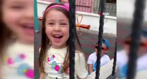 Başkent'te polis ekiplerinden saklanan küçük çocuklar kameralara yakalandı