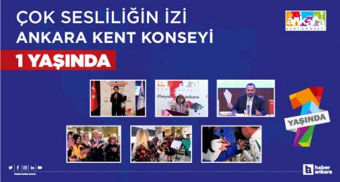 Çok sesliliğin izi Ankara Kent Konseyi 1 yaşında